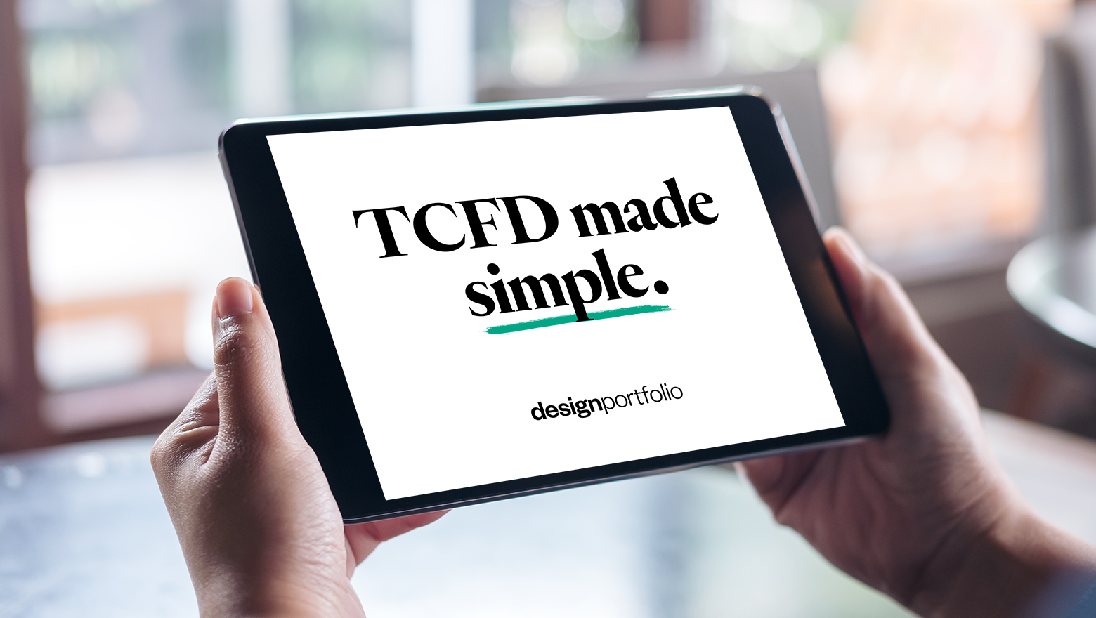 TCFD made simple.