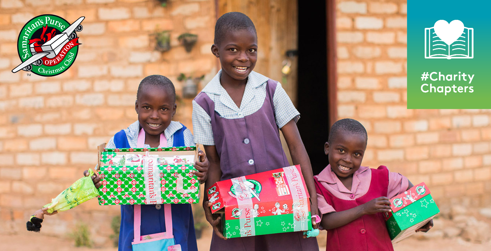 Charity Chapters: Operation Christmas Child is a go!